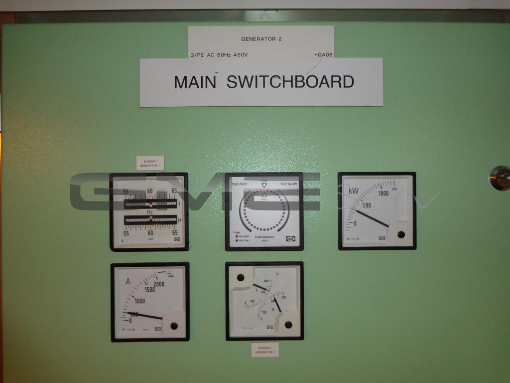 Servicebericht-Schiff-Generatoren Parallellauf-Erregermotor-Servicebericht-vor-Ort