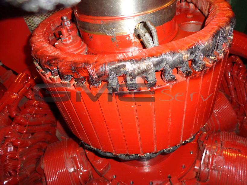 Servicebericht-vor-Ort-Erregerrotor