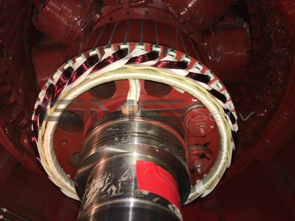 Erregermotor-Stuetzring-Isolierung-Phasenisolierung