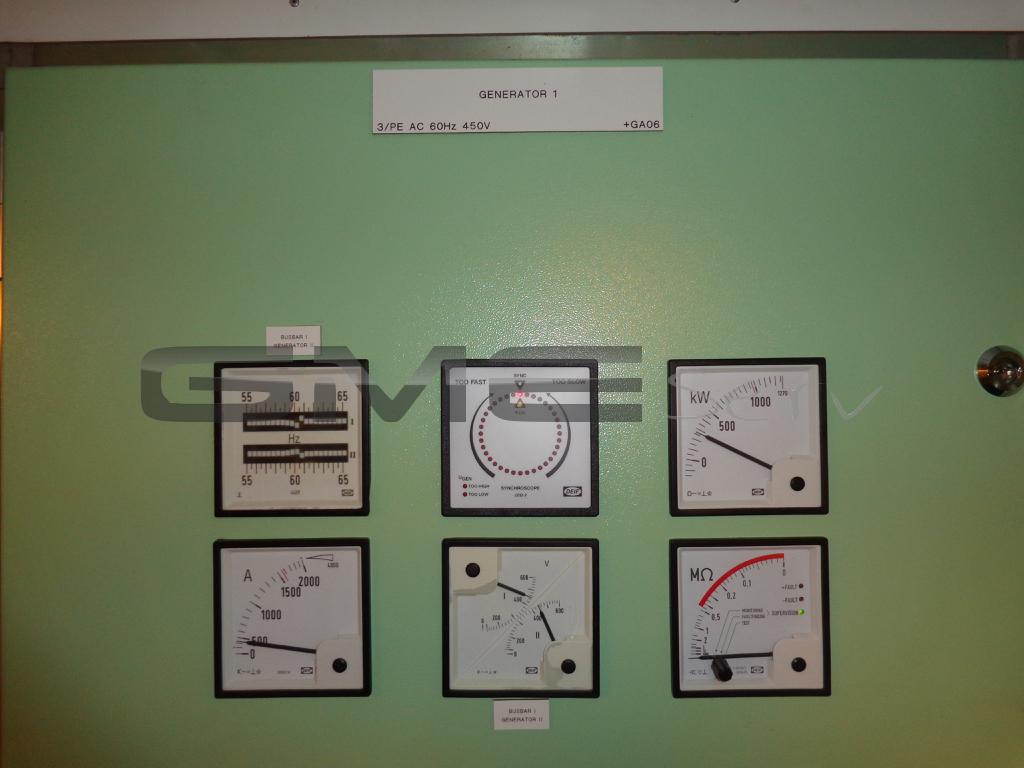 Servicebericht-Schiff-Generatoren-Paraellelauf-Servicebericht-vor-Ort